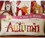 A Year In Words Autumn Pillow September by Jennifer Bosworth