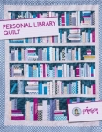 Personal Library Quilt by Crimson Tate