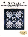 Asteria Block of the Month Pattern Set by Needle in a Hayes Stack