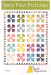 Bear Paw Patches Quilt Pattern by Needle in a Hayes Stack