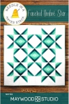 Faceted Ombre Star Quilt Pattern by Needle in a Hayes Stack
