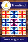 Transfixed Quilt Pattern by Needle in a Hayes Stack