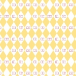 CAMELOT - Dumbo - Vintage Argyle - Yellow - #3276-