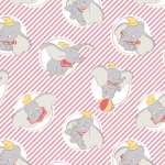 CAMELOT - Dumbo - Dumbo Stripes Rose - #3278-