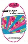 Eazy Peazy Suns Up Place Mats Pattern
