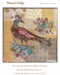 Pheasant Collage Pattern by Laura Heine