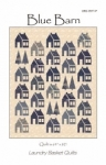 Blue Barn Quilt Pattern by Edyta Sitar Laundry Basket