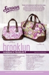 Brooklyn Handbag & Traveler by Swoon Sewing Patterns