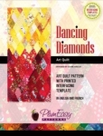 Dancing Diamonds Art Quilt by Plum Easy