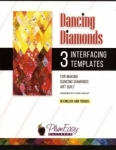 Dancing Diamonds Interfacing Template 3-pack by Plum Easy