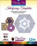 Morning Star Interfacing Template 12-pack by Plum Easy