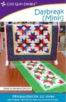 Daybreak MINI Quilt Pattern by Cozy Quilt Designs