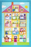 Dollhouse Quilt Pattern by Amy Bradley Designs