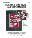 Little Bits Holiday Mini-Quilt and Ornaments
