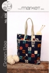 The Market Tote Pattern by Green Bee Designs