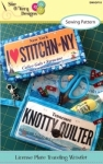 License Plate Traveling Wristlet  Pattern by Sue OVery Designs