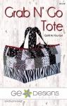 Grab N Go Tote Pattern by GE Designs