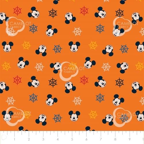 CAMELOT - Mickey Mouse - Oh Boy Ships Wheel Orange - #2330-