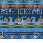 CAMELOT - Mickey Mouse - Oh Boy - Sweater Blue - #2324-