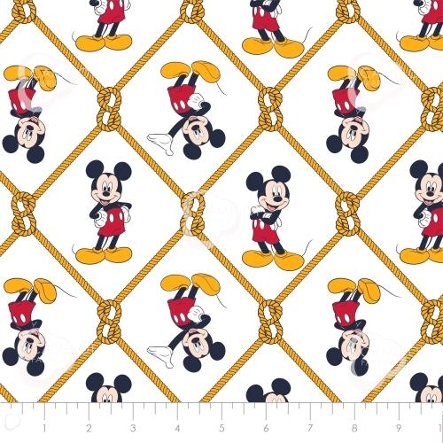 CAMELOT - Mickey Mouse - Oh Boy Net White - #2316-