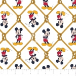 CAMELOT - Mickey Mouse - Oh Boy Net White - #2316-
