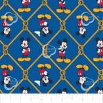 CAMELOT - Mickey Mouse - Oh Boy Net Blue - #2319-