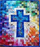 Cut Loose Press - Rainbow Cross Quilt Pattern