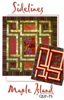 Maple Island Quilts: Sidelines 855419000444 - Quilt in a Day Patterns