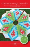 Christmas Magic Tree Skirt Pattern by Amanda Murphy Design