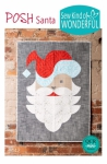 Posh Santa Pattern by Sew Kind of Wonderful