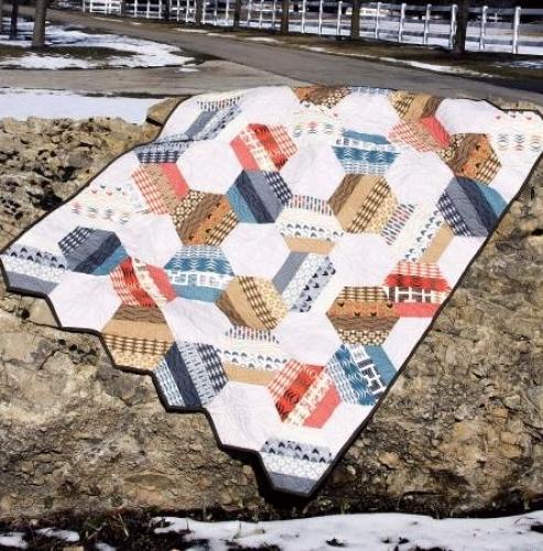 Cut Loose Press Love On The Rocks Quilt Pattern