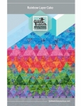 Rainbow Layer Cake by  Quilt Addicts Anonymous Patterns