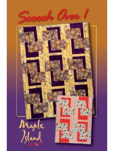 Scooch Over 1 by Maple Island Quilts 855419000710 - Quilt in a Day ... : bq quilt pattern - Adamdwight.com