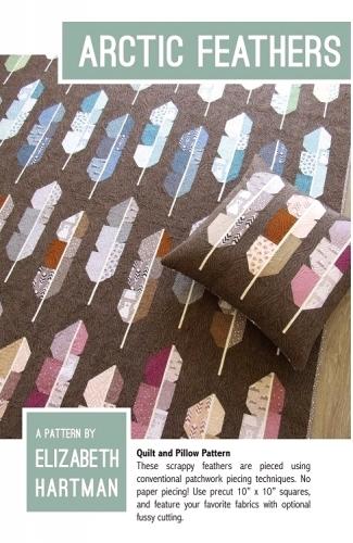 Arctic Feathers Pattern by Elizabeth Hartman