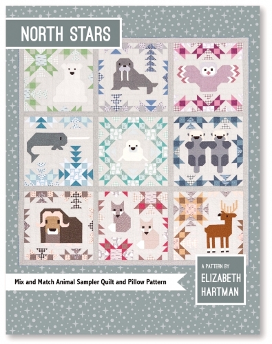 North Stars Pattern by Elizabeth Hartman