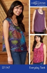Everyday Tank Pattern by Indygo Junction