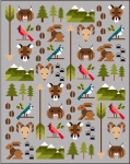 Sew Fresh Quilts - Forest Friends 2 Quilt Pattern by Lorna McMahon