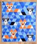 Sew Fresh Quilts - Fox & Friends Quilt Pattern by Lorna McMahon