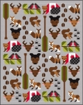 Sew Fresh Quilts - Forest Friends  Quilt Pattern by Lorna McMahon
