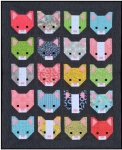 Sew Fresh Quilts - Smitten Kitten Quilt Pattern by Lorna McMahon