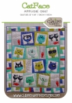 Catface Applique Quilt Pattern by Claire Turpin Design