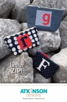 Letter Zip Pattern by Atkinson Designs