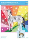 The Unicorn & Horse Abstractions Quilt Pattern by Violet Craft