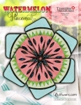 Watermelon Placemats Pattern by Judy Niemeyer/Quiltworx