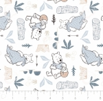 CAMELOT FABRICS - Wonder & Whimsy - Blankets And Honey White