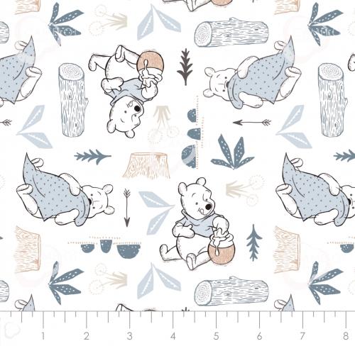CAMELOT FABRICS - Wonder & Whimsy - Blankets And Honey White