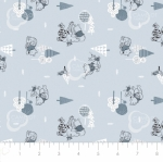 CAMELOT FABRICS - Wonder & Whimsy - Forest Blue