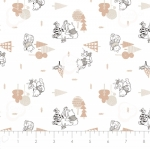 CAMELOT FABRICS - Wonder & Whimsy - Forest White - #2174-