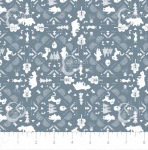 CAMELOT FABRICS - Wonder & Whimsy - Silhouette Lace Blue