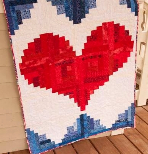 Cut Loose Press - I Love America Quilt Pattern